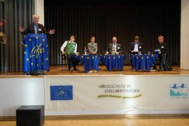 Ende der Fachtagung, Dank an alle Mitwirkenden durchDr. Jürgen Schedler,Regierungspräsidium Stuttgart.